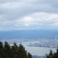 琵琶湖が見えたぞ
