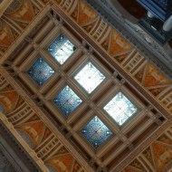 議会図書館の天井